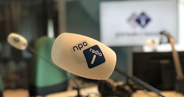 Jakob van Wielink te gast bij NPO Radio 1 in het programma 'Out of the box' met Astrid Joosten
