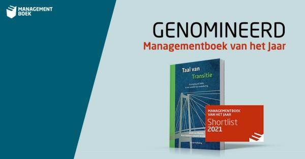 Taal van Transitie op de Shortlist van Managementboek van het Jaar 2021